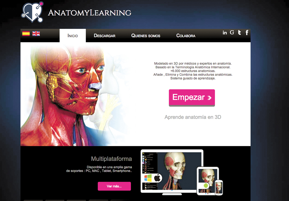 Webs para hacer más atractiva la anatomía humana | Eniac