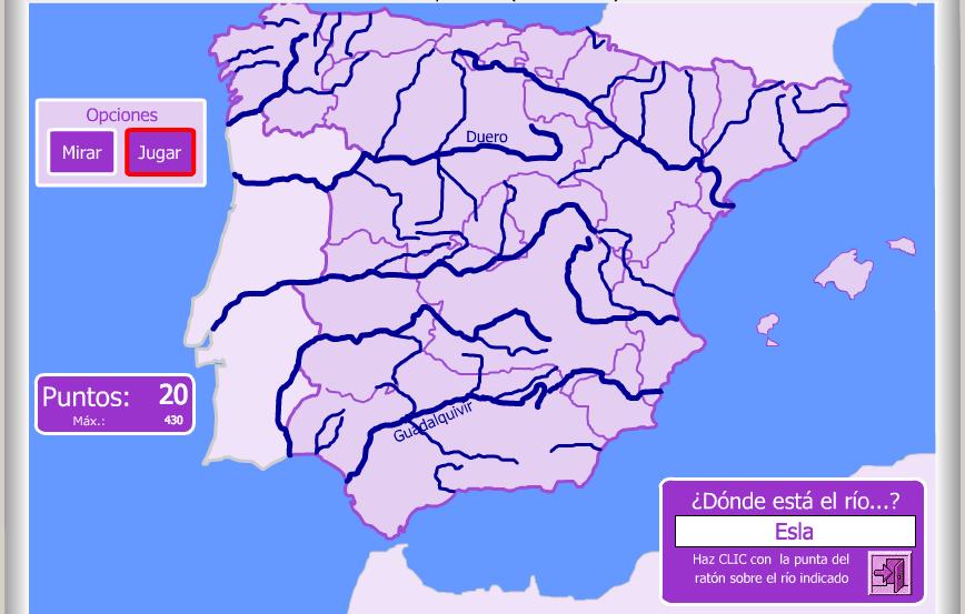 Webs Interactivas Para Conocer Los Ríos Eniac