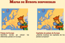 Webs para estudiar los países europeos