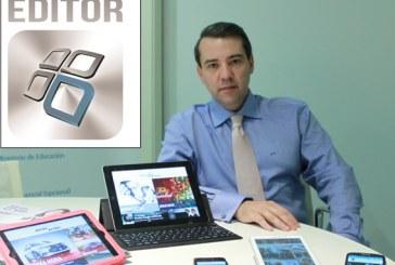 """Juan Pablo Mateos: """"Los colegios tienen un nuevo canal para estar a la última tecnología"""""""