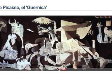 Webs para conocer la obra del Guernica en clase