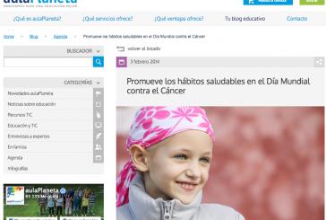 Webs para tratar el tema del cáncer en las aulas