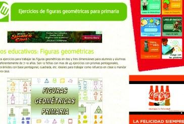 Juegos para reforzar los conocimientos en geometría