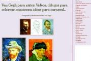Webs para conmemorar el 125 aniversario de la muerte de Van Gogh