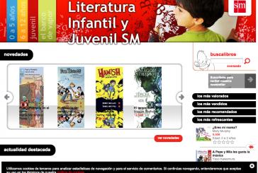 Webs para promover la lectura en infantil y juvenil