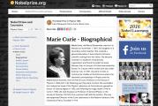 Recursos para conocer la vida y obra de Marie Curie