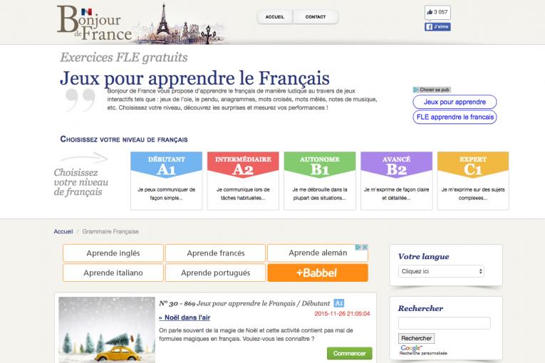 recursos francés gramática